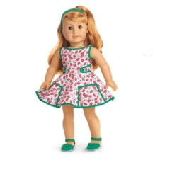 American Girl Doll Beforever Maryellen Strawberry Outfit