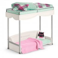American Girl Bunk Bed & Bedding Set