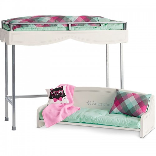 american girl bunk bed bedding set. Black Bedroom Furniture Sets. Home Design Ideas