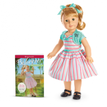 American Girl Doll Maryellen - Beforever Maryellen Doll + Book