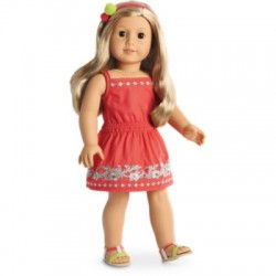 American Girl Doll Sunny Day Dress