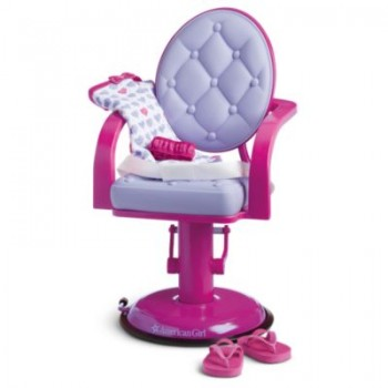 American Girl Salon Chair and Wrap Set