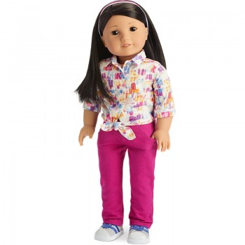 American Girl Doll Cool Colors Outfit