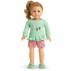 American Girl Doll That's How We Roll PJ'S