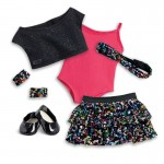 American Girl Doll Sparkling Star Dance Outfit