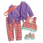 American Girl Doll Cheer Practice Outfit