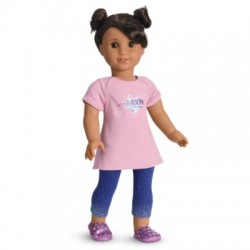 American Girl Doll Luciana PJs for 18-inch Dolls