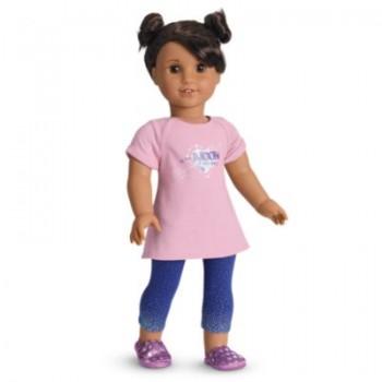 American Girl Doll Luciana PJs for 18-inch Dolls