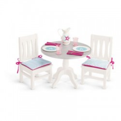 American Girl Dining Table and Chairs