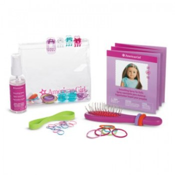 American Girl Ready to Style Hair Care Kit