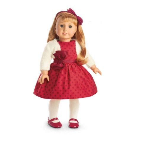 American Girl Doll Beforever Maryellen Christmas Party Outfit